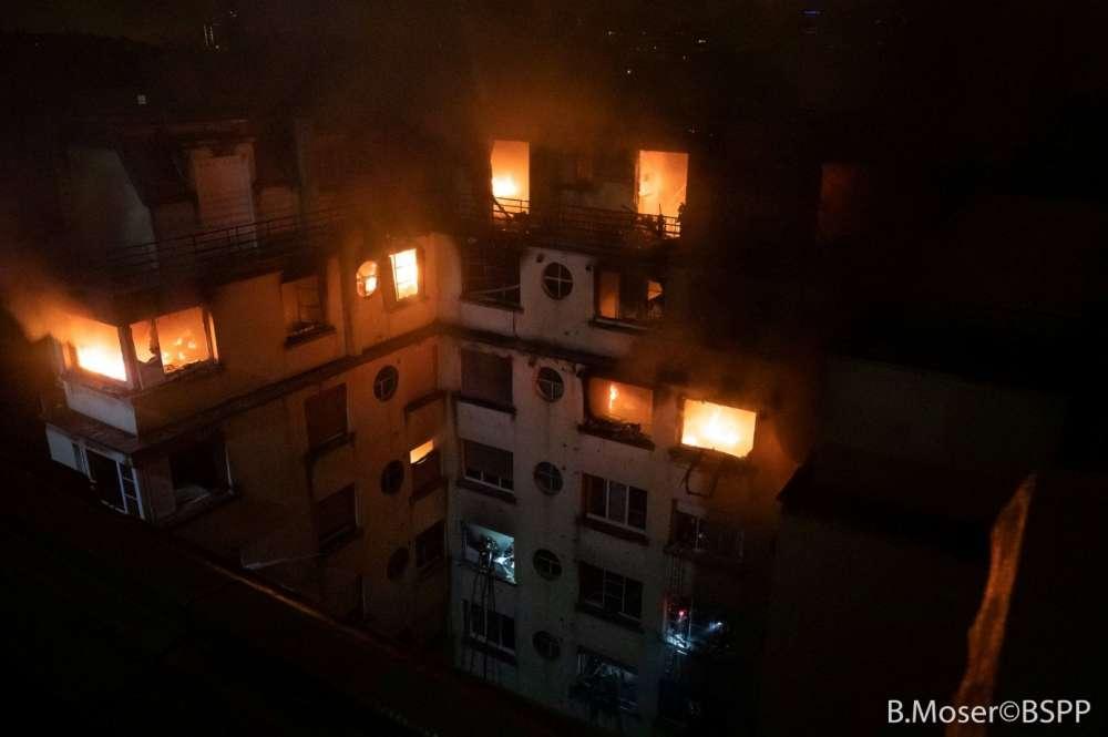 Updated: Blaze kills eight in Paris apartment block