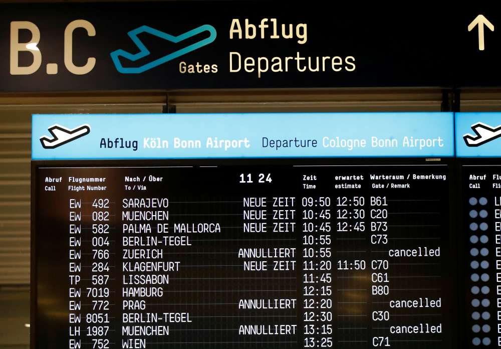 Sixteen flights cancelled at Lisbon Airport due to three-day strike