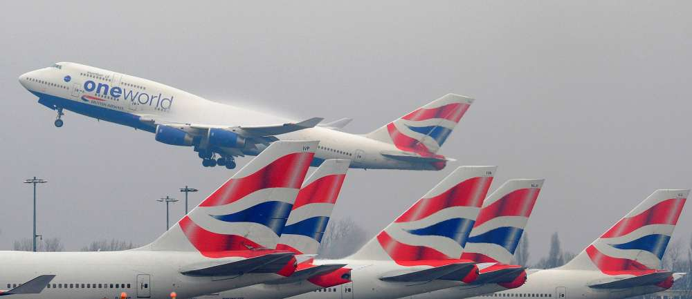 Britain matches EU offer to maintain flights in no-deal Brexit scenario