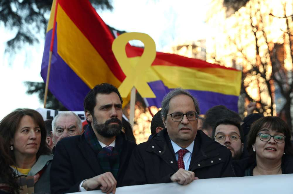 Catalan separatists go on trial