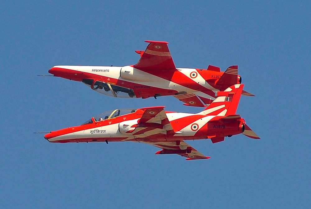 Indian air force planes collide in show rehearsal