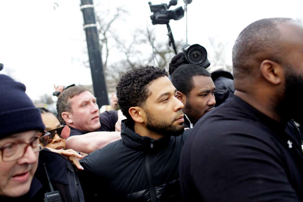 Actor Jussie Smollett indicted on 16 counts of lying to Chicago police