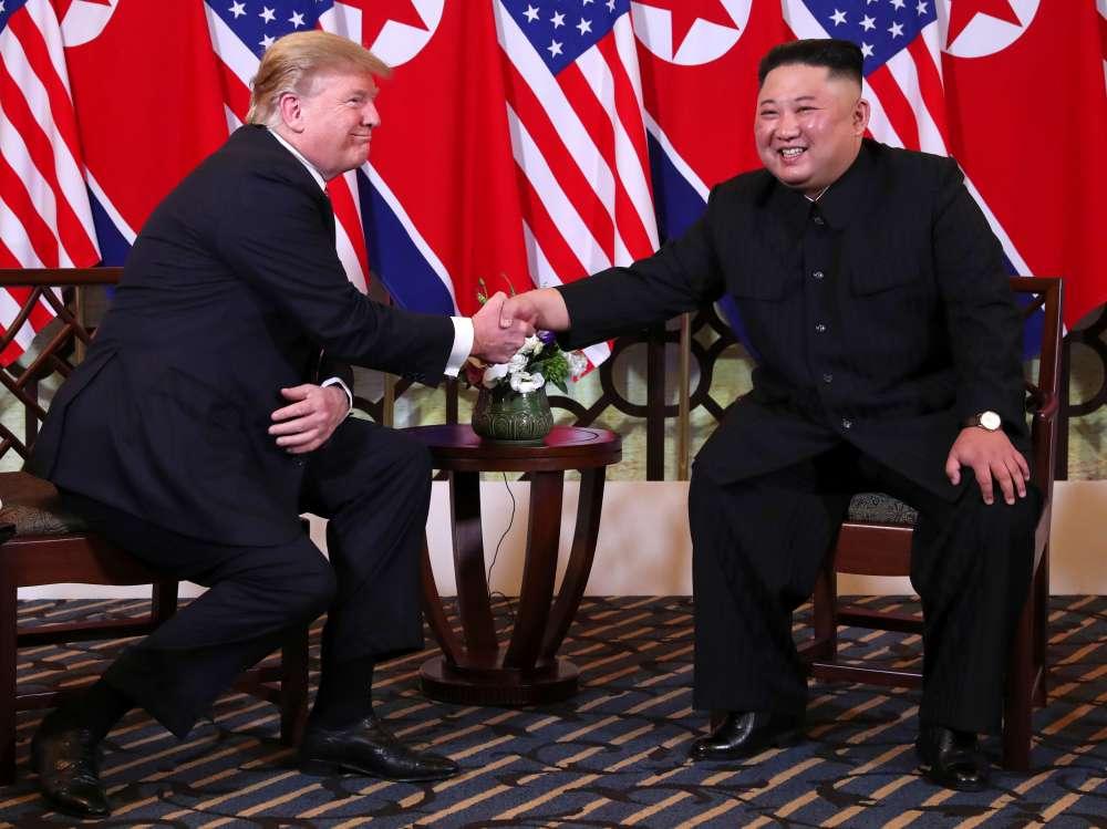 Trump to meet North Korea's Kim on DMZ between the two Koreas