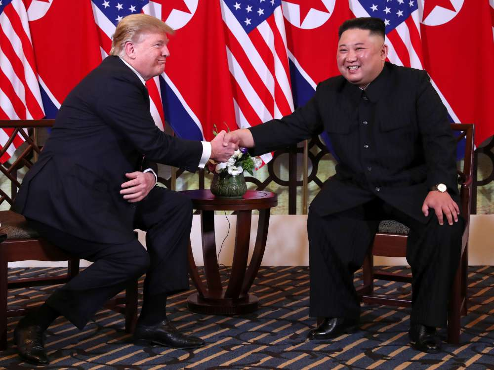 Trump meets N.Korea's Kim in Vietnam for second nuclear summit