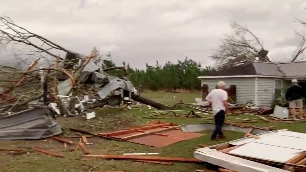 At least 23 dead in Alabama tornado