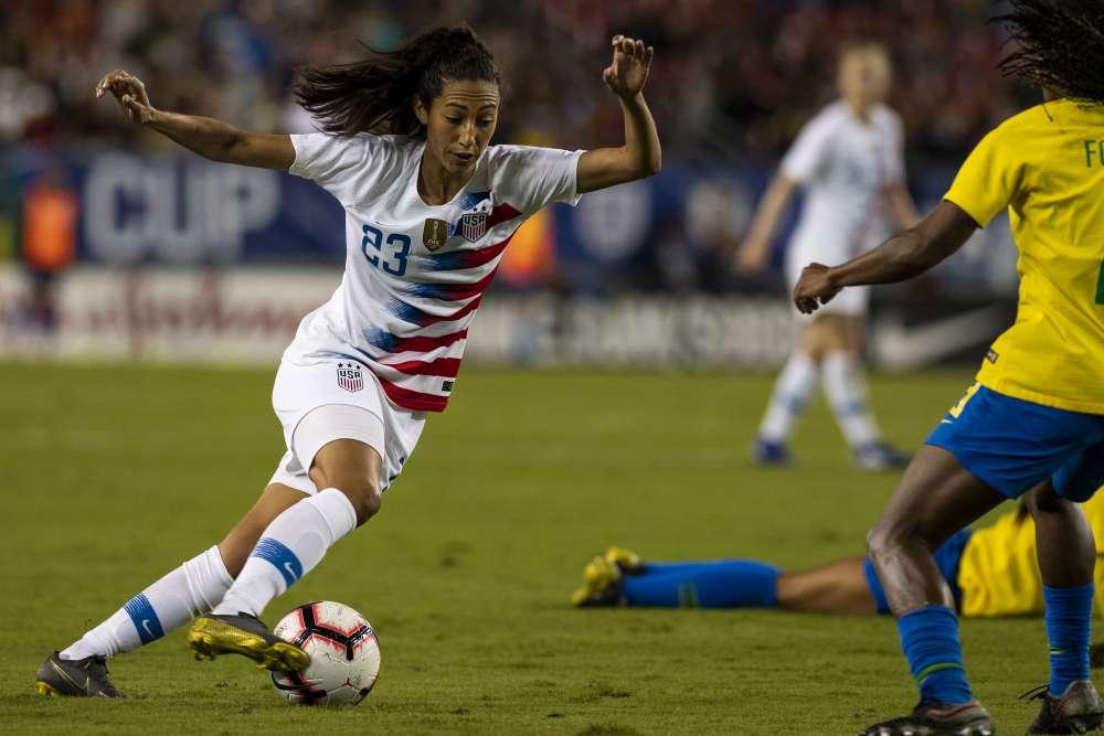 World champion U.S. women's soccer players sue federation for gender discrimination