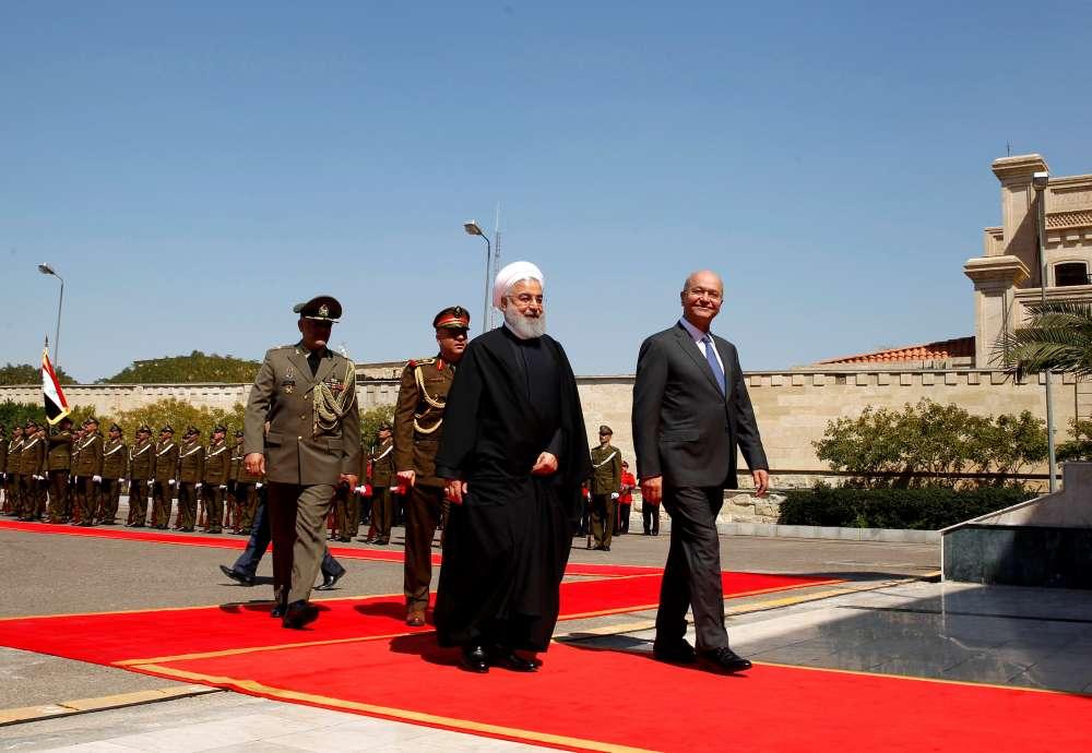 Trade ties in focus as Iran's Rouhani begins Iraq visit