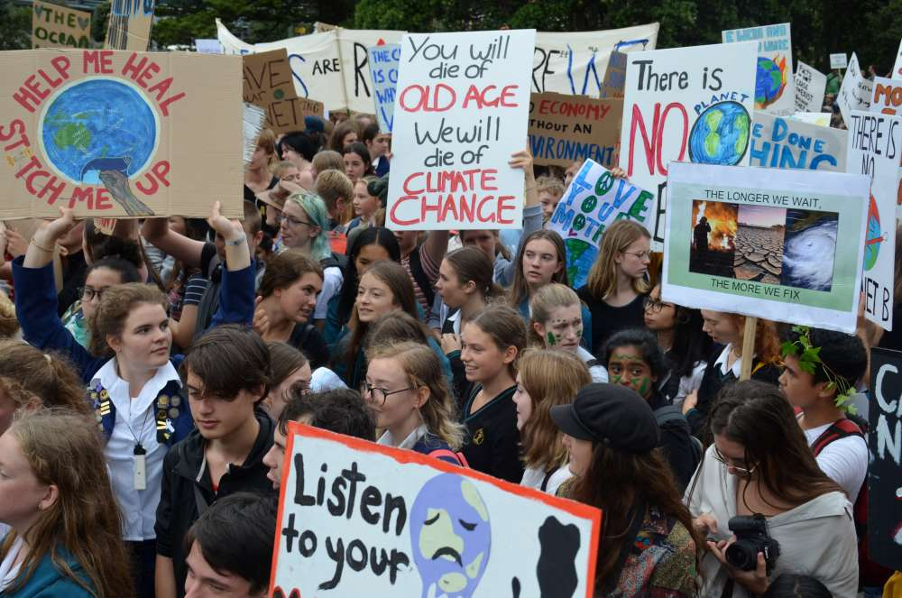 'Worse than Voldemort': Global students' strike targets climate change