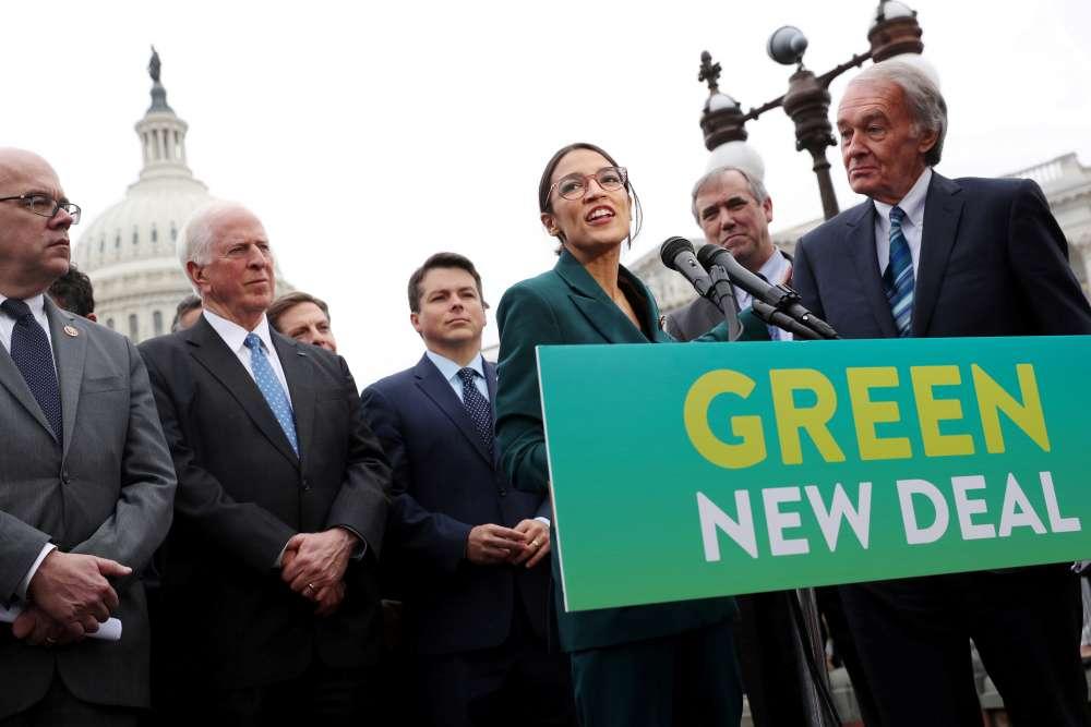 US Republicans set 'Green New Deal vote' in bid to divide Democrats