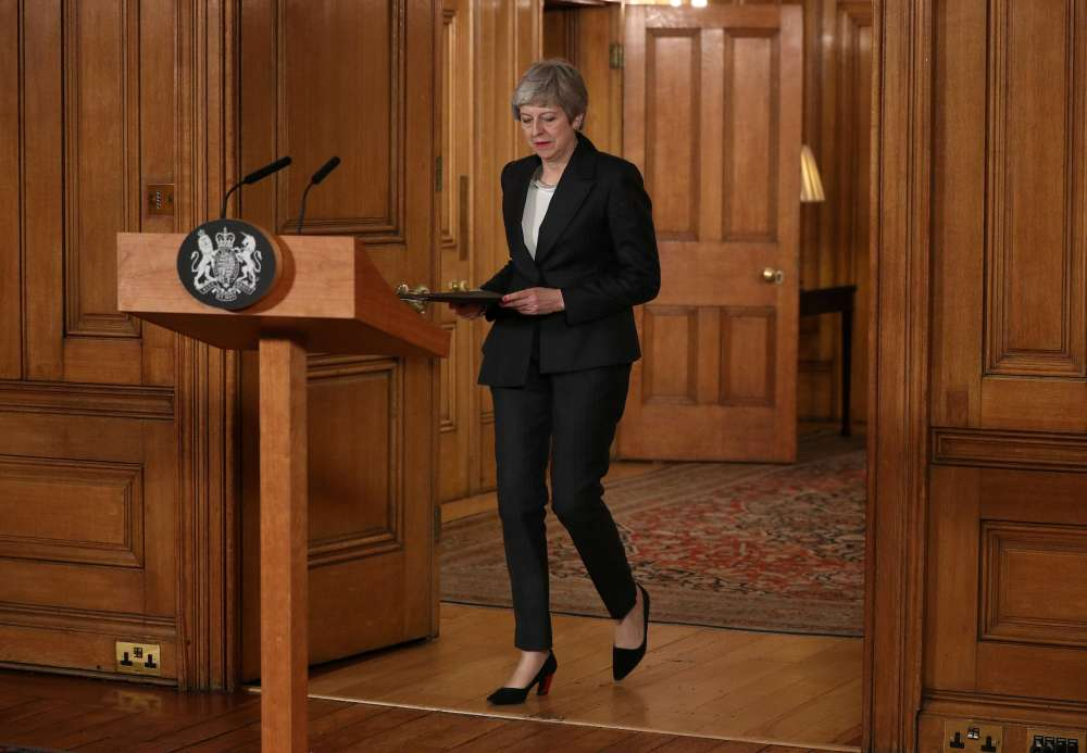 May urges parliament to back her on Brexit