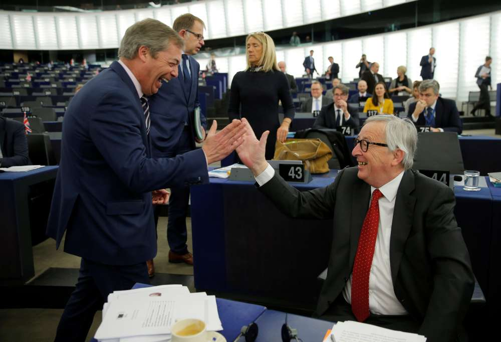 British would boost eurosceptics in next EU parliament- survey