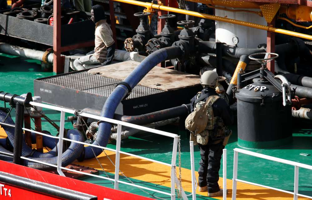 Malta's army takes control of small tanker hijacked by migrants