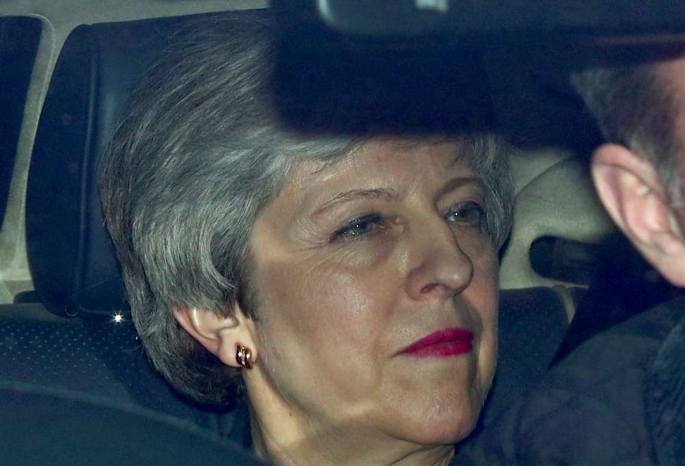 Struggling May puts stripped-down Brexit deal to a vote in parliament