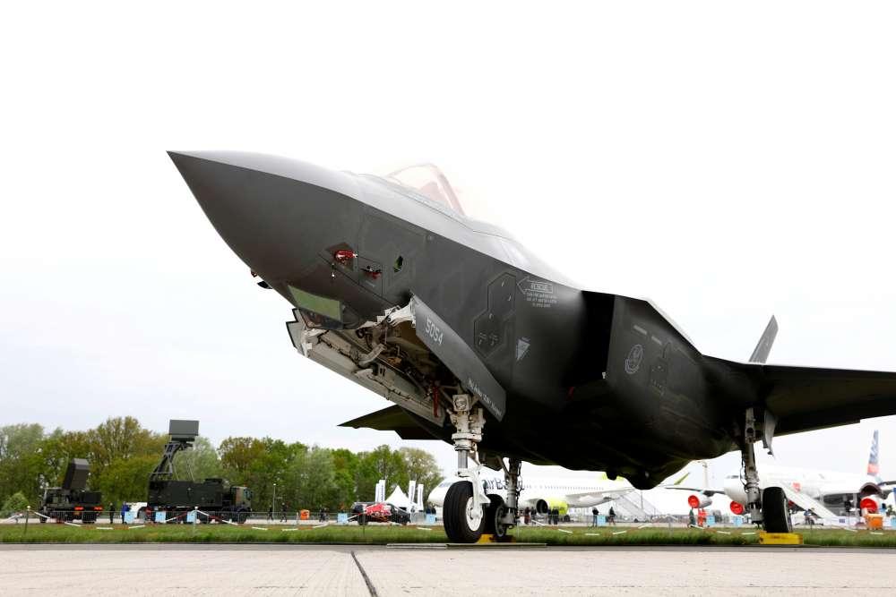 U.S. halts F-35 equipment to Turkey