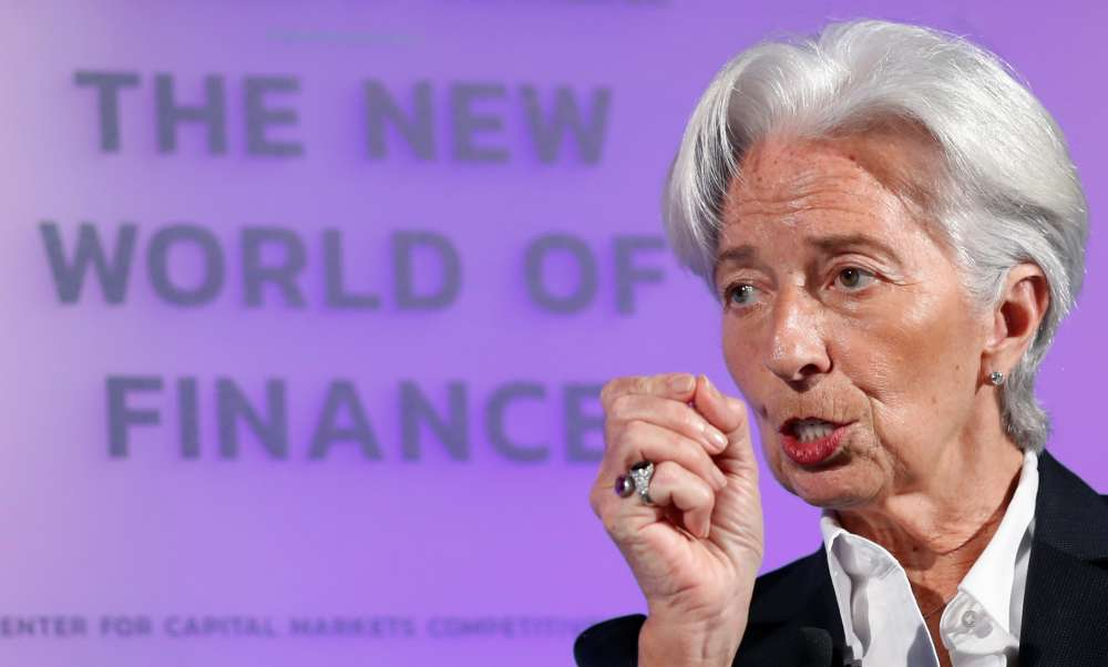 ECB should be 'ahead of the curve' on digital currency-Lagarde