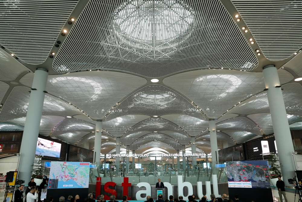 Turkish Airlines aims to spread its wings at Istanbul's giant new airport