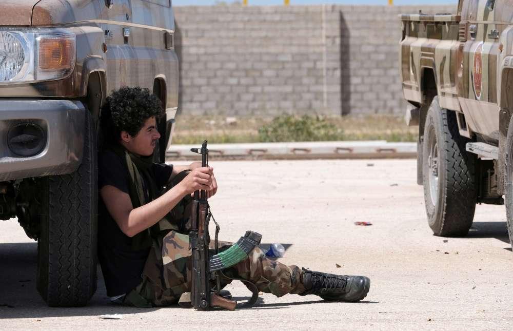 Battle for Libyan capital intensifies
