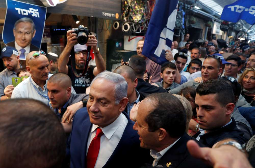 Israelis go to polls in referendum on Netanyahu's record reign