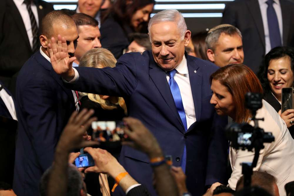Israel's Netanyahu secures election victory - Israeli TV channels