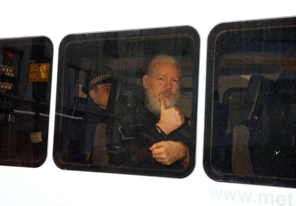 EXPLAINER-Assange arrested in London after seven-year refuge in embassy