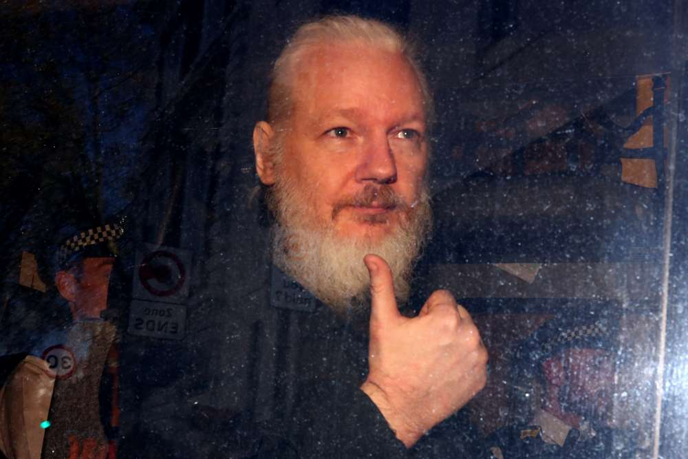 U.S. charges WikiLeaks founder Assange with hacking conspiracy