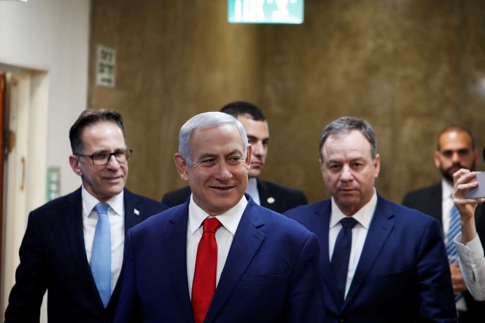 Netanyahu passes threshold for nomination as Israel's premier