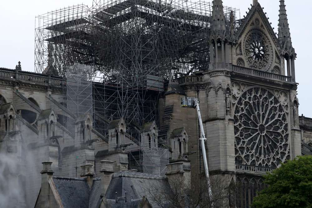 France probes possibility of negligence in Notre Dame fire