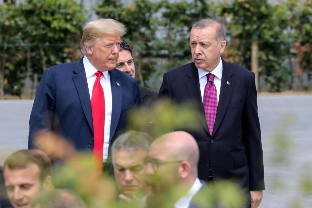 Turkey says U.S. scrapping trade deal contradicts goals