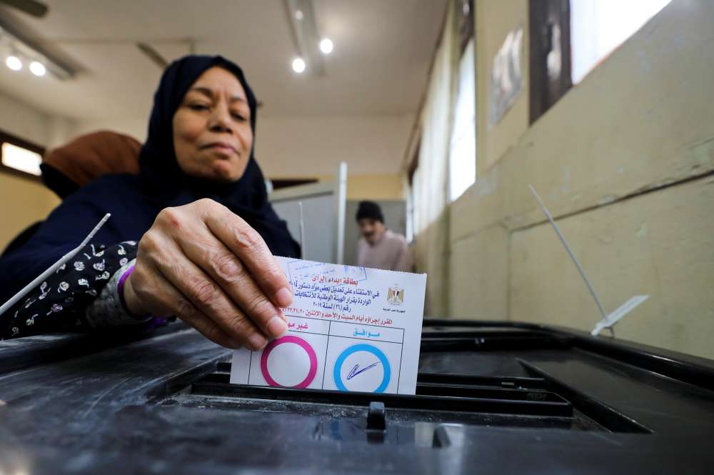 Egyptians vote on changes that may see Sisi in power to 2030