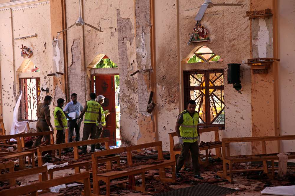 Sri Lanka attacks carried out by suicide bombers-investigator