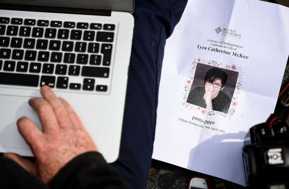 N.Ireland police suspect teenage gunman killed journalist Lyra McKee