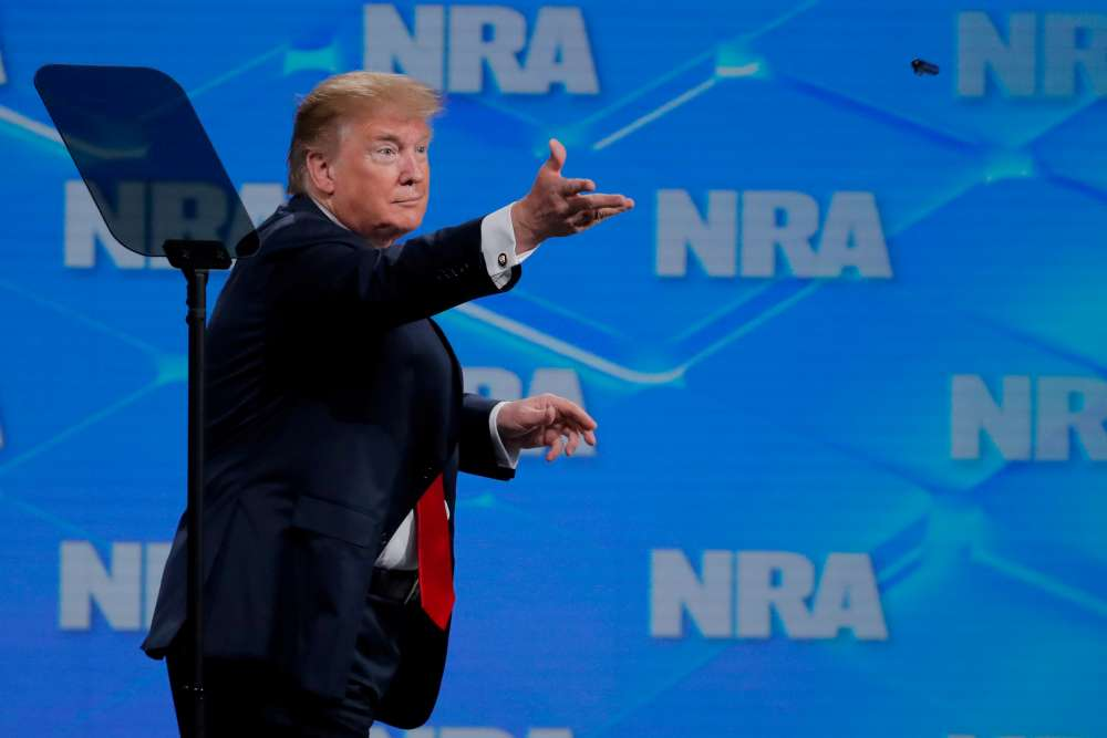 Trump pulling U.S. out of U.N. arms treaty