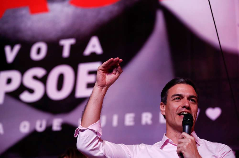 Spain's Socialists on course to regain power but talks await