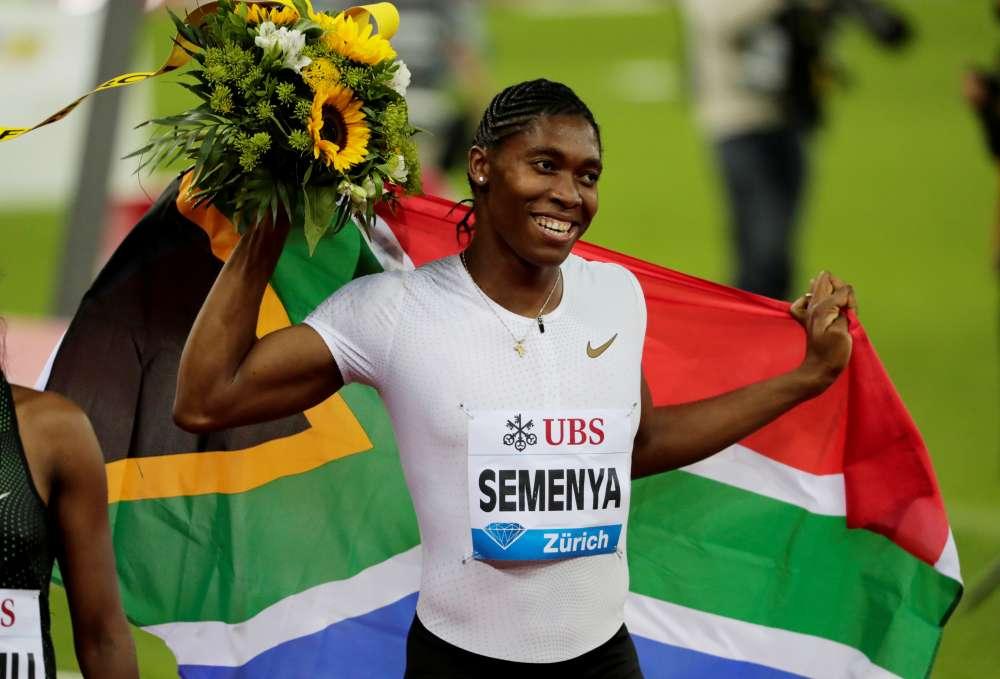 Athletics - Semenya says 'no threat' to women's sport
