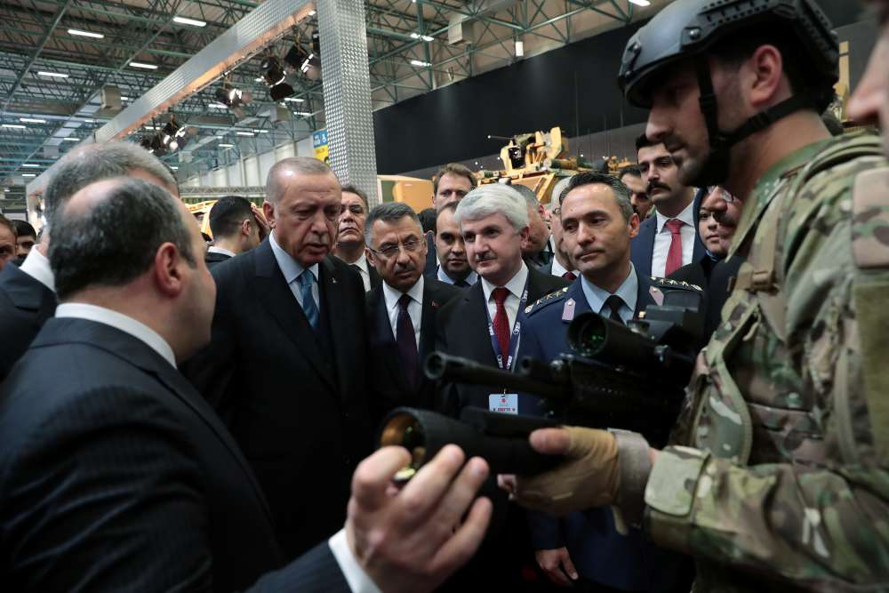 Erdogan says F-35 project would collapse without Turkey
