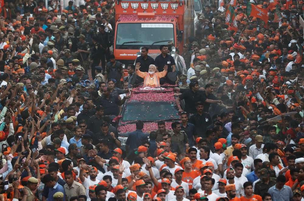 India's PM Modi wins historic general election victory