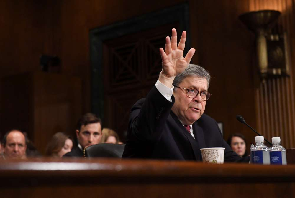 Barr cancels second day of testimony