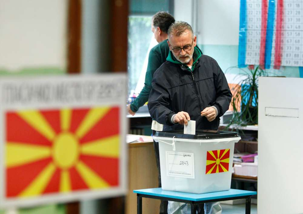N. Macedonia holds run-off presidential vote amid divisions over name change