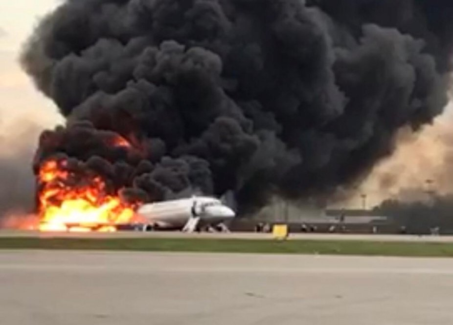 41 reported killed after Russian passenger plane crash-lands in Moscow (video)