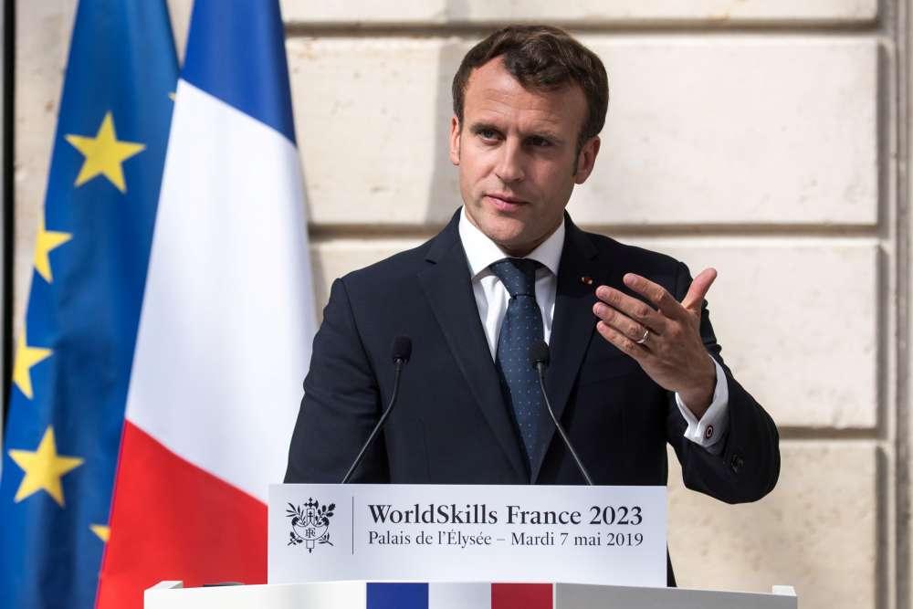 Macron camp seeks reset after EU campaign 'false start'