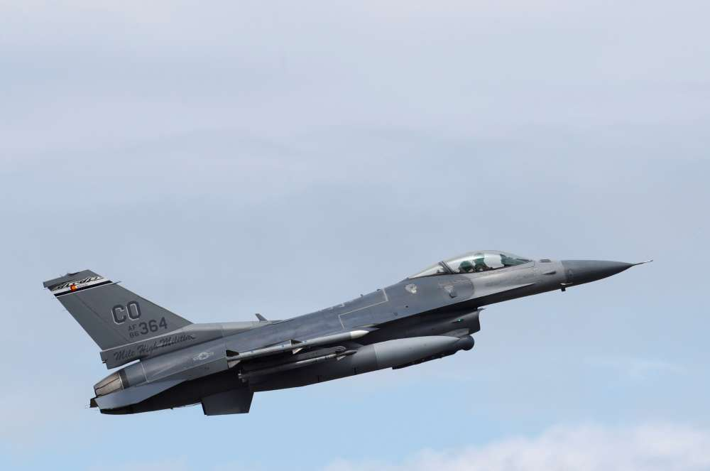 Bulgaria sees F-16 jet deal with U.S. at $1.2 bln