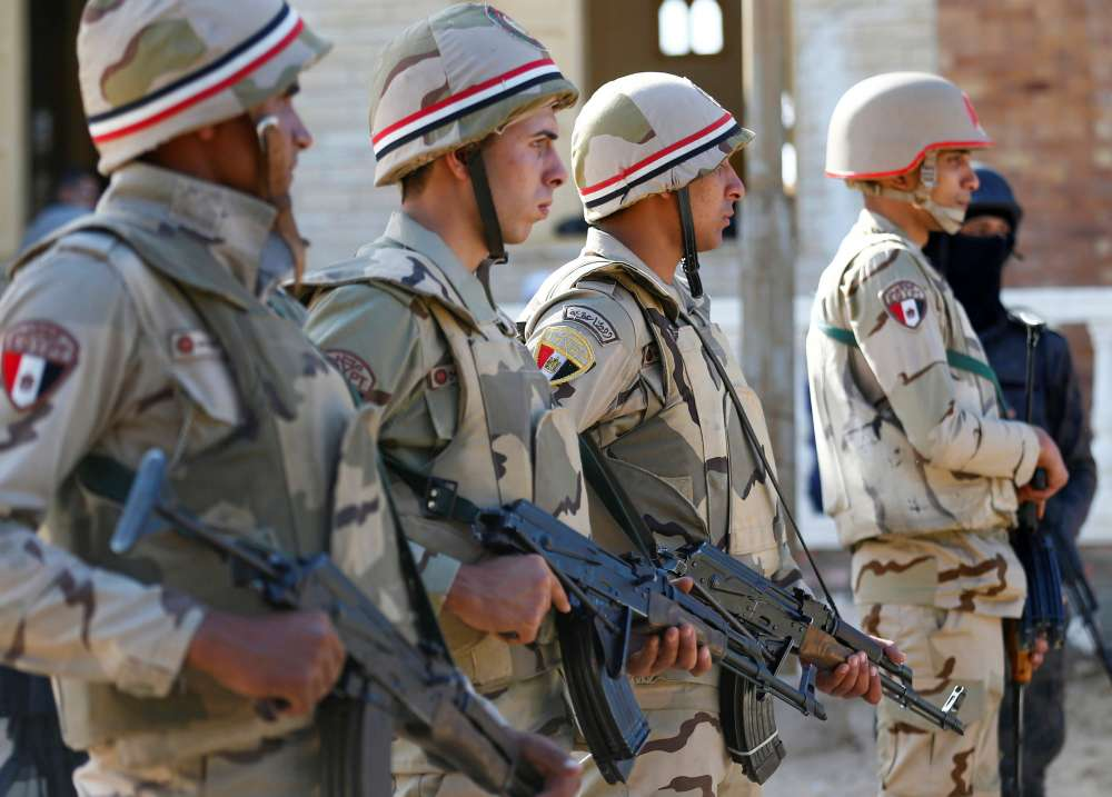 Egyptian forces kill 47 militants