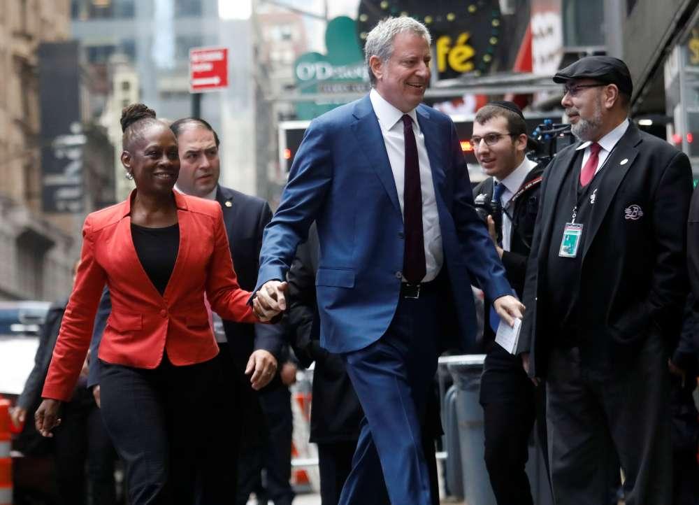 New York Mayor de Blasio becomes 24th Democrat in crowded 2020 White House field