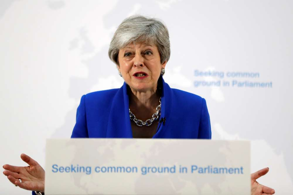 Theresa May's Brexit gambit fails as her premiership fades