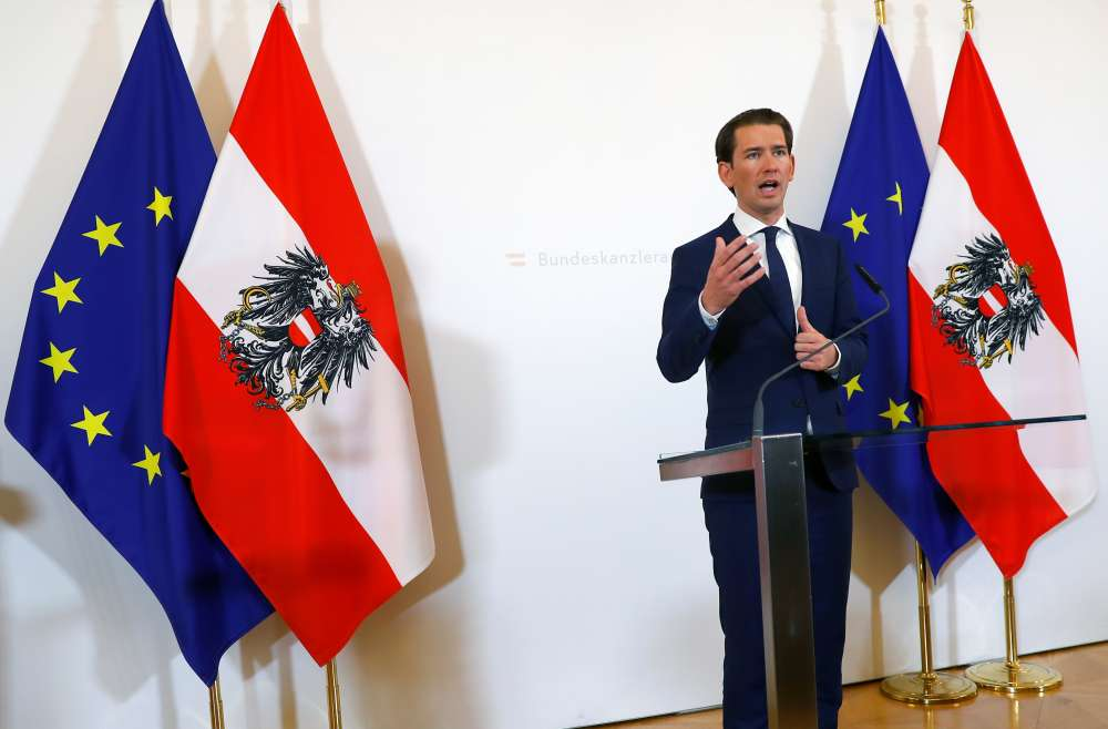 Austrian parliament sacks Kurz as video sting crisis rolls on
