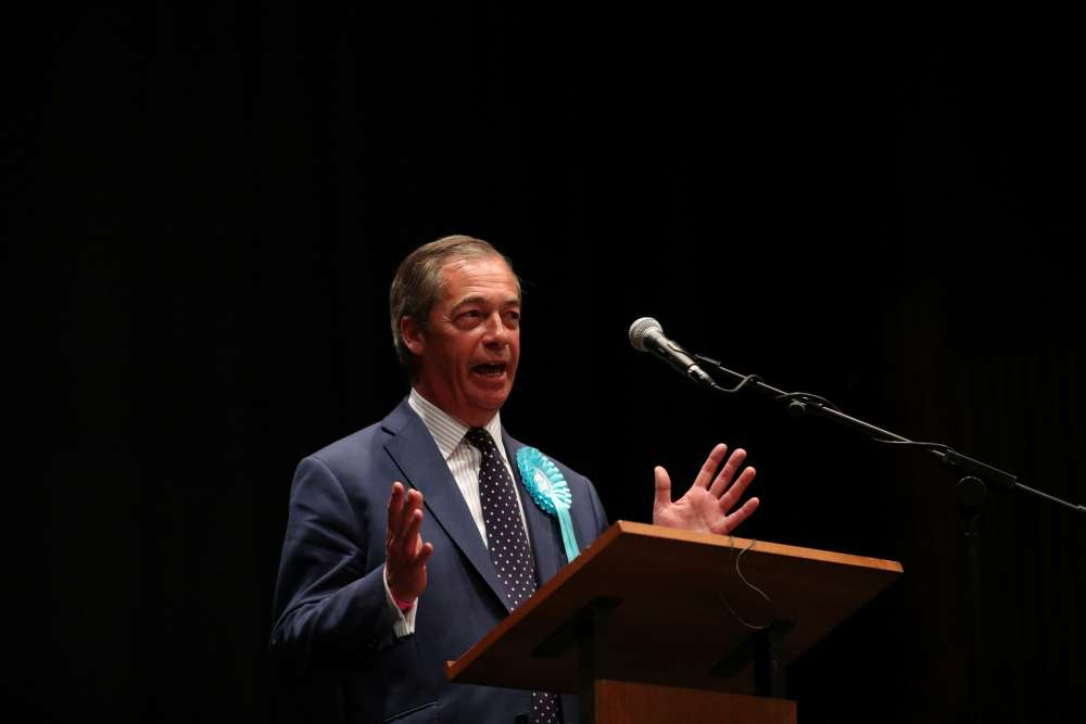 UK's Nigel Farage demands a seat at Brexit talks
