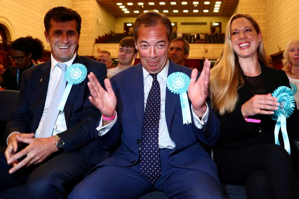 UK ever more polarised as Brexit Party storms to EU vote win