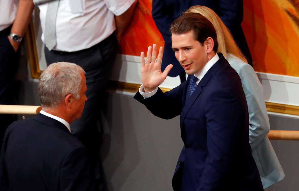 Austria's Kurz leaves office