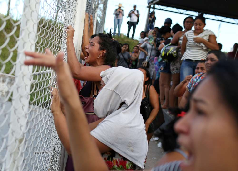 At least 40 inmates strangled to death in Amazon prison gang clashes