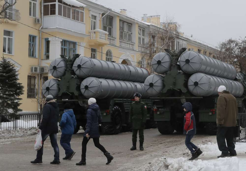 Russia says to deliver missile defence system to Turkey in July
